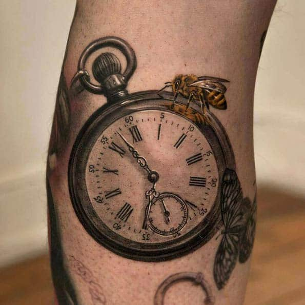 200 Popular Pocket Watch Tattoo And Meanings July 2018