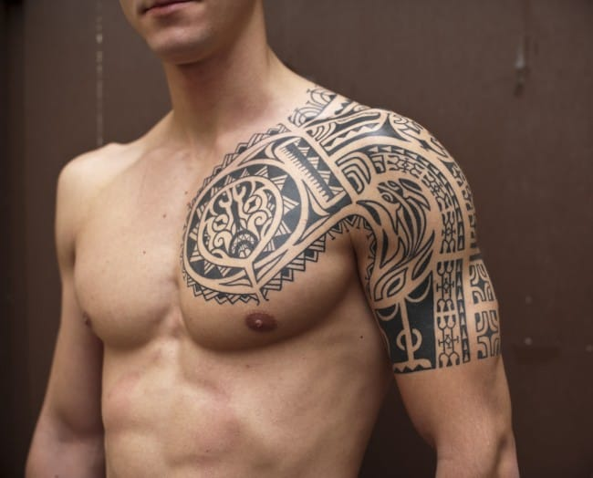 Traditional Tribal Tattoo