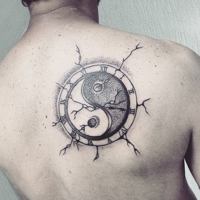 150 Meaningful Yin Yang Tattoos Ultimate Guiee October 2018