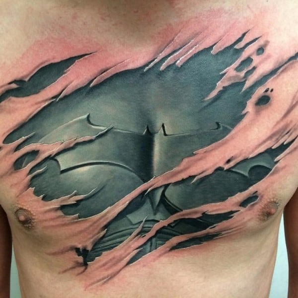 Batman 3D Tattoo