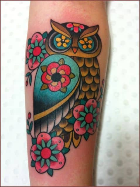 150 Meaningful Owl Tattoos Ultimate Guide January 2019 Part 8