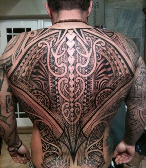 Big Tribal Tattoos Inspiration