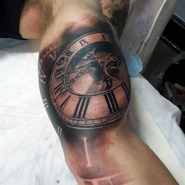 200 popular pocket watch tattoo meanings 2016. Black Bedroom Furniture Sets. Home Design Ideas