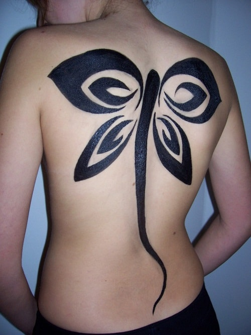 Butterfly Tribal Tattoos