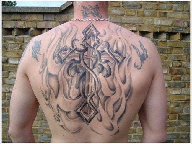 150 Sacred Cross Tattoos For Men Women July 2019