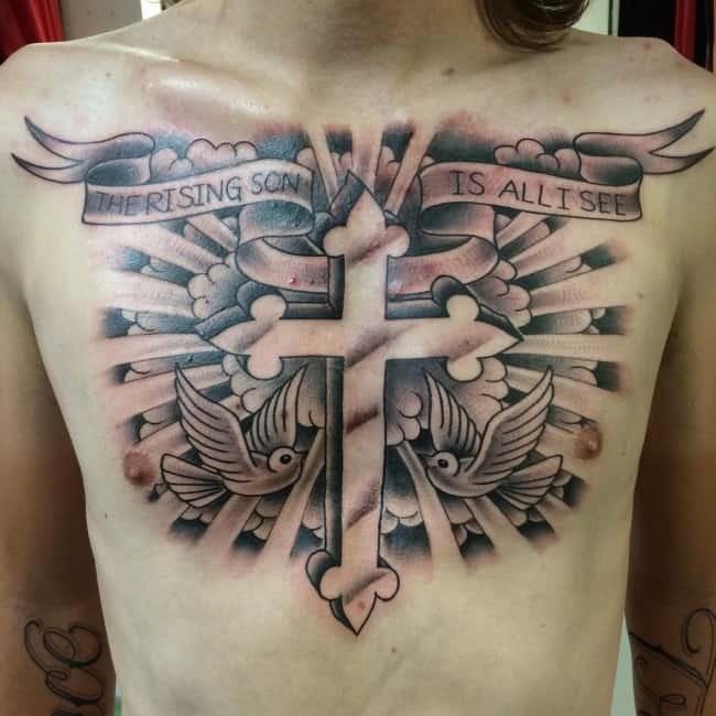 150 Sacred Cross Tattoos For Men Women September 2018