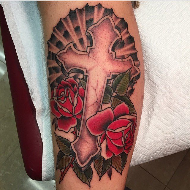 150 Sacred Cross Tattoos For Men Women December 2018
