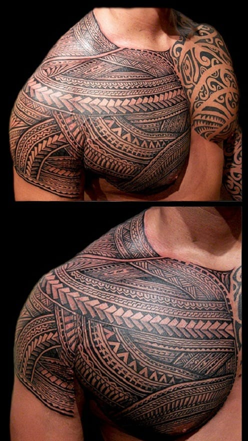 Detailed Maori Tribal Tattoos