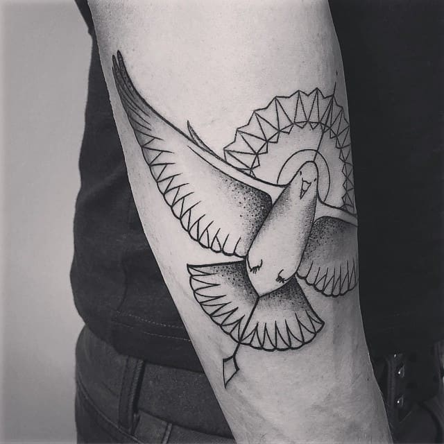 100 Meaningful Dove Tattoos Ultimate Guide November 2018