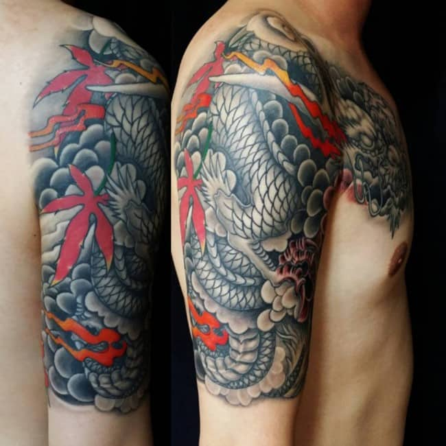 100 Meaningful Dragon Tattoos An Ultimate Guide November 2018