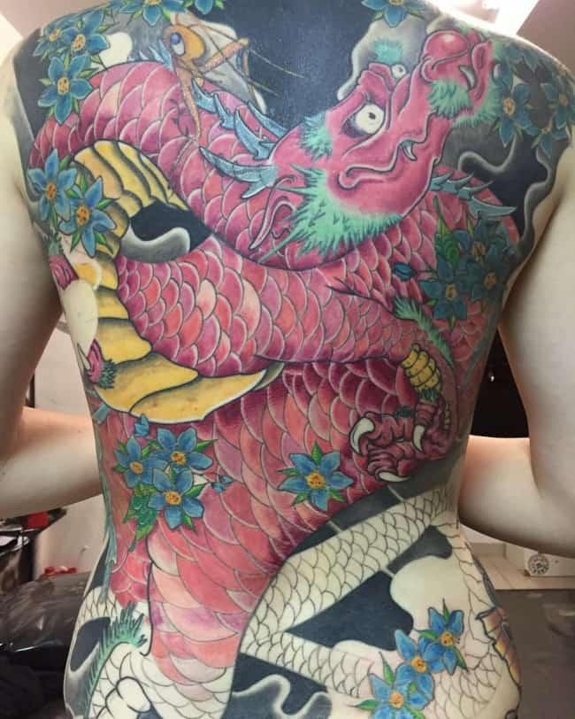 dragon tattoo (2)