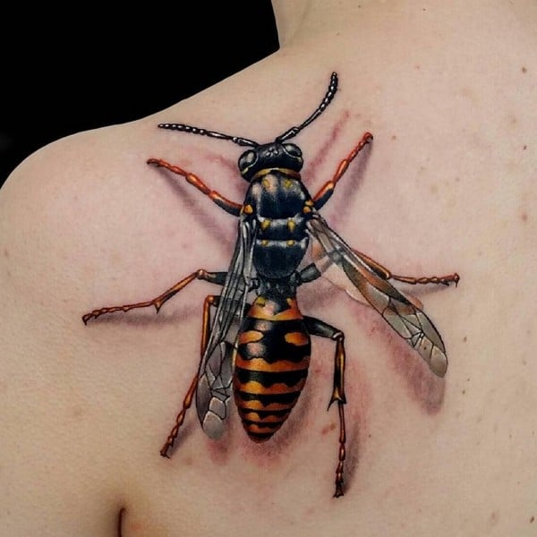 Fantastic 3D Tattoo Design