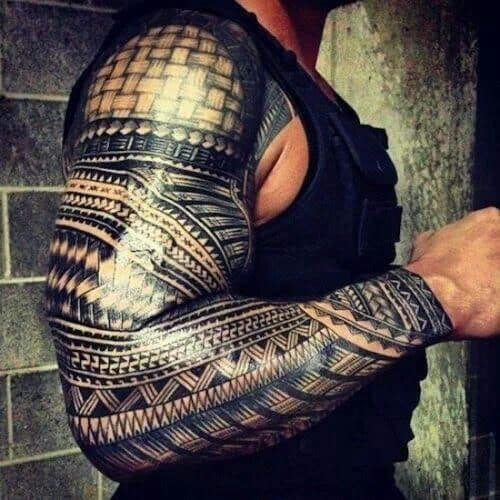 Hardcore Tribal Tattoos