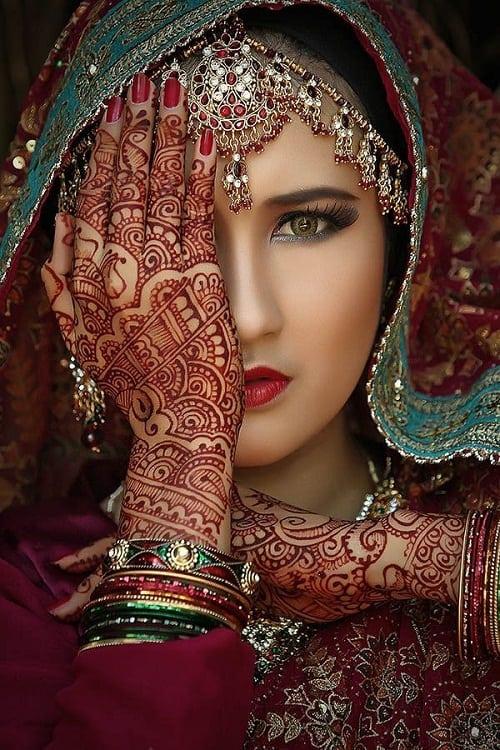 Indian Beauty Tribal Tattoos