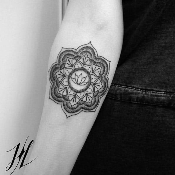 Little lotus flower by Marjorianne