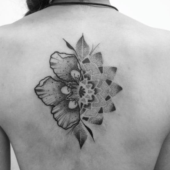 Mandala floral design by Tiago Oliveira