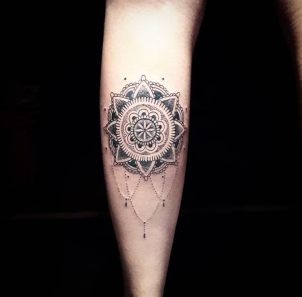 Ornamental mandala design by Diogo Rocha