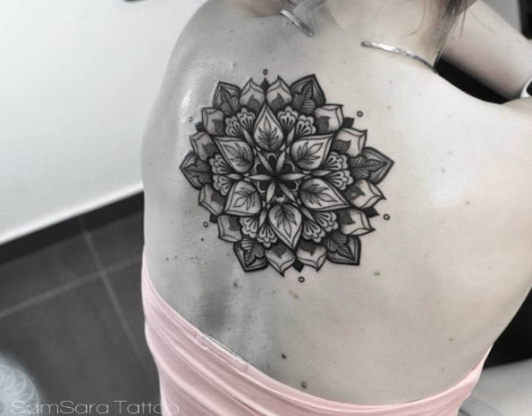 Mandala flower by Sara Reichardt