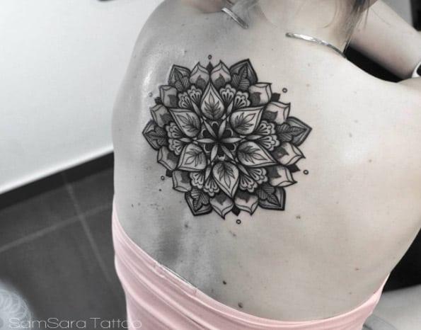 Mandala flower by Sara Reichardt