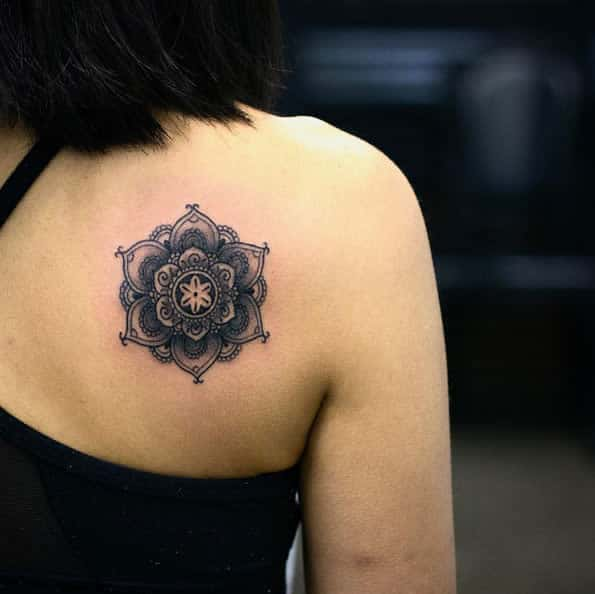 Back shoulder piece by Kristi Walls