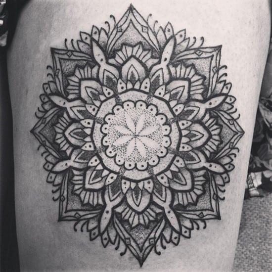 50 Mandala Tattoo Designs: 200 Mystical Mandala Tattoos Meanings (Ultimate Guide 2019