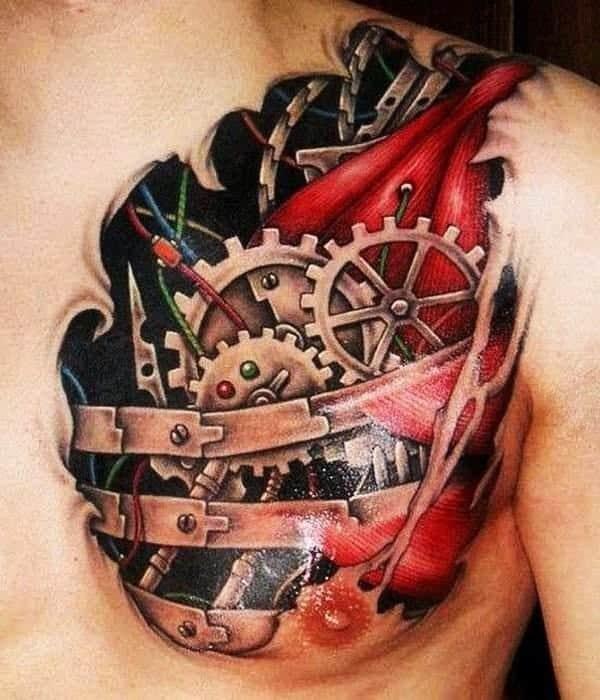 Nice 3D Tattoo