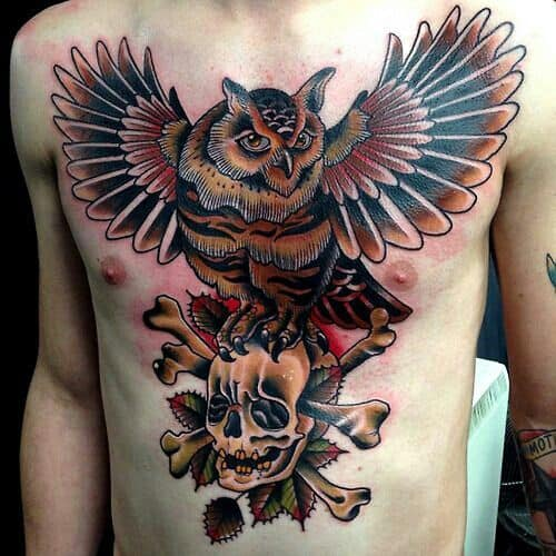 150 Meaningful Owl Tattoos Ultimate Guide January 2019 Part 3