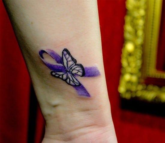 130 Inspiring Breast Cancer Ribbon Tattoos August 2020