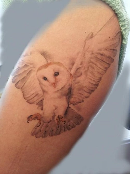 cb48f57ccfb50 150 Meaningful Owl Tattoos (Ultimate Guide, July 2019)