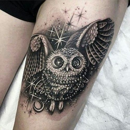 150 Meaningful Owl Tattoos Ultimate Guide September 2018
