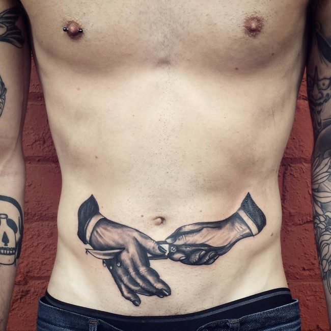 150 Sexiest Stomach Tattoos For Men Women December 2018