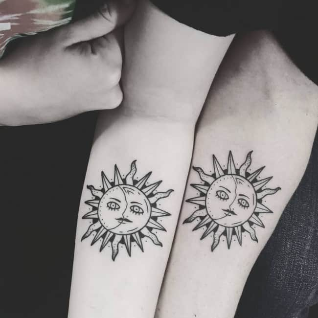 150 Meaningful Sun Tattoos Ultimate Guide September 2018