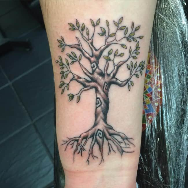 Family Tree Tattoo Ideas: 150 Meaningful Tree Tattoos (Ultimate Guide, June 2019
