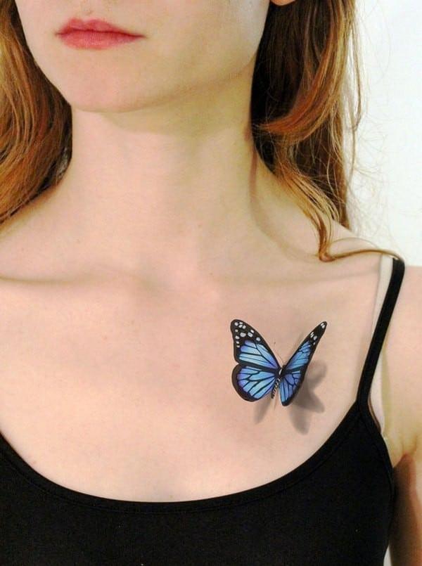 Trendy 3D Tattoo