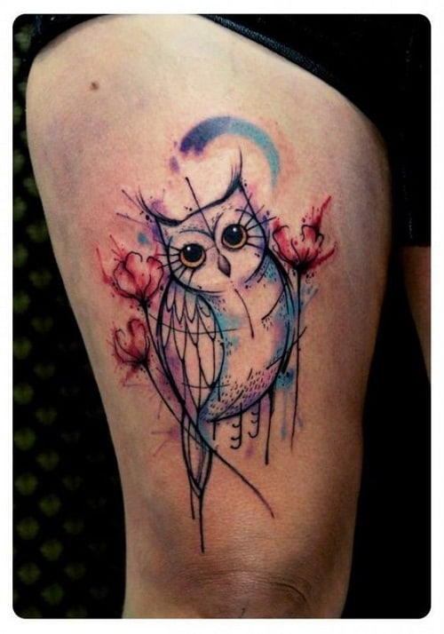 150 Meaningful Owl Tattoos Ultimate Guide October 2019