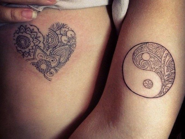 04661ce9f Therefore, these tattoos are not only good for men and women because of  their visual appeal but also for their symbolic significance. Yin Yang  Tattoos