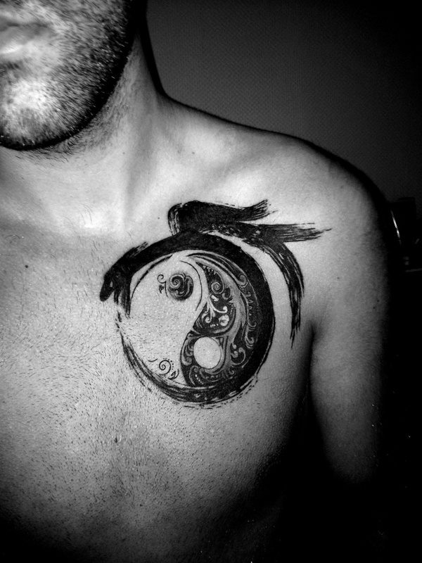 4f6305752520c All these tattoo designs featuring Yin and Yang make a popular design  option, not only among the Chinese, but also tattoo enthusiasts all around  the globe, ...