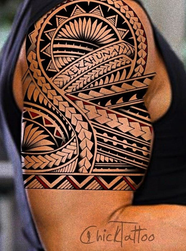 150 popular polynesian tattoos and meanings 2017 collection part 8. Black Bedroom Furniture Sets. Home Design Ideas