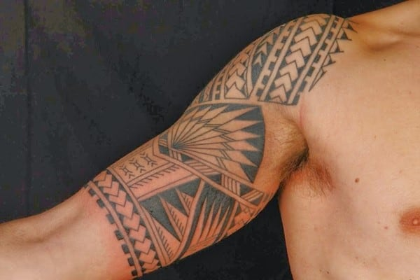 Polynesian tattoos 18