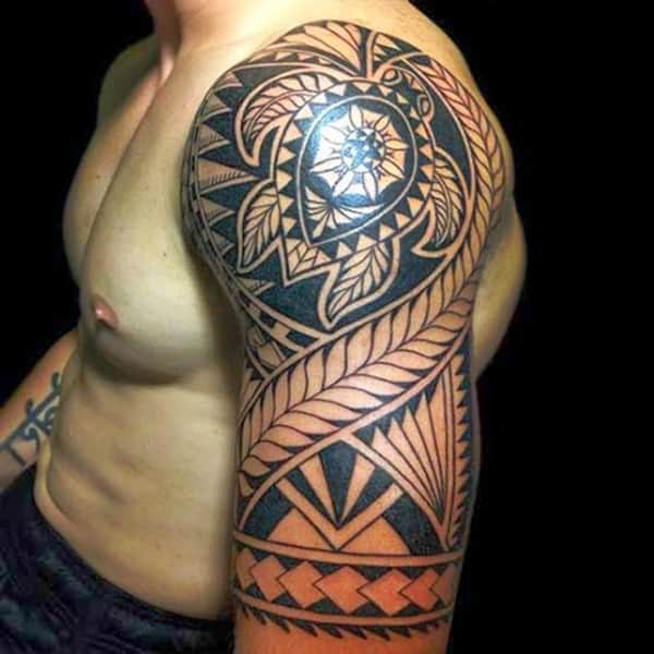 Polynesian Tattoos Designs Ideas And Meaning: 100 Popular Polynesian Tattoo Designs & Meanings [2017]
