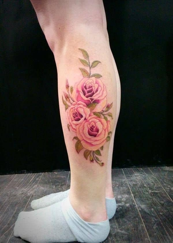 Romantic-Rose-Tattoo