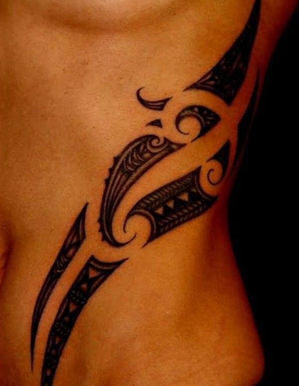 Samoan-belly-tattoo-For-Girls1
