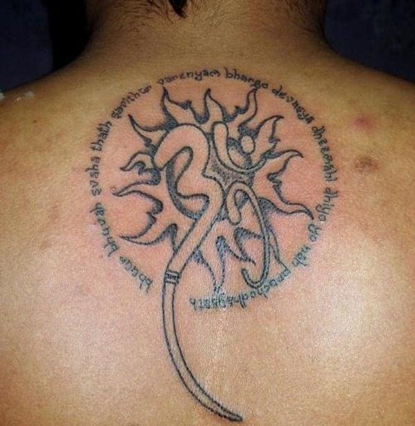 Neck Girl S Tara Mantra Tattoos: 155 Inspiring Om Tattoos Ideas [2017 Collection]
