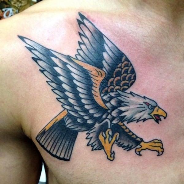 100 Meaningful Eagle Tattoo Designs February 2019