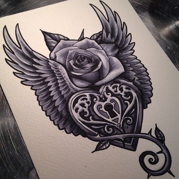 lock-and-key-tattoo-63