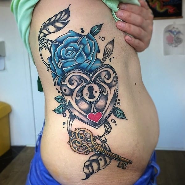 lock-and-key-tattoo-69