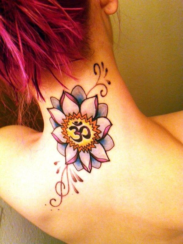 om-lotus-tattoo
