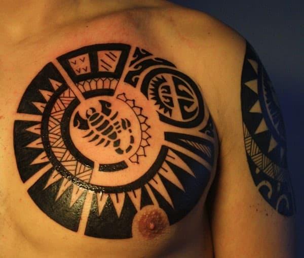 polynesian-scorpion-tattoo