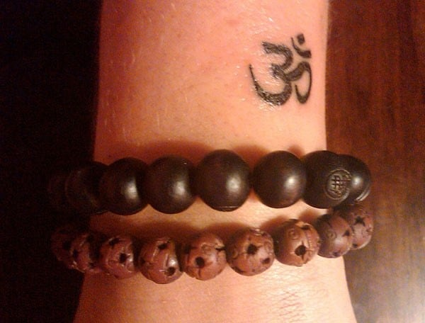 small-om-tattoo