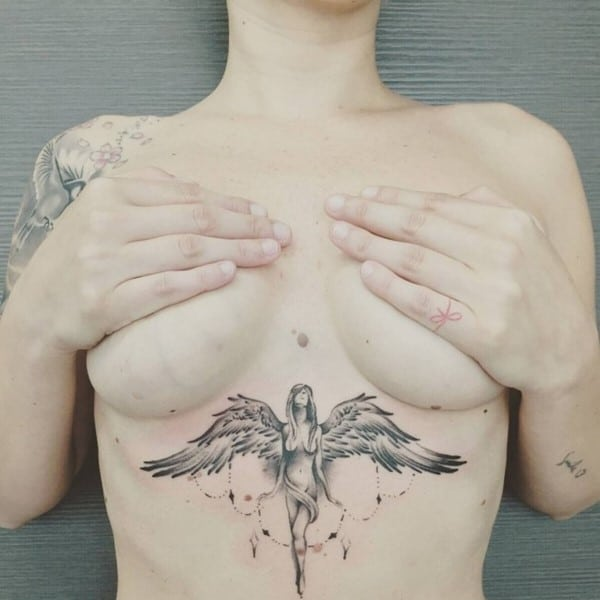 180 Under Breast Tattoo Ideas Boob Tattoos Ultimate Guide January